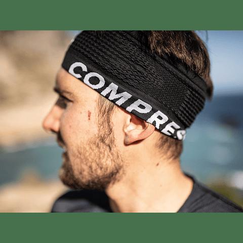 HEADBAND NEW BLACK COMPRESSPORT