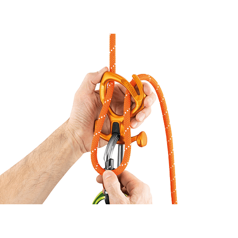 DESCENDEDOR PIRANA PETZL