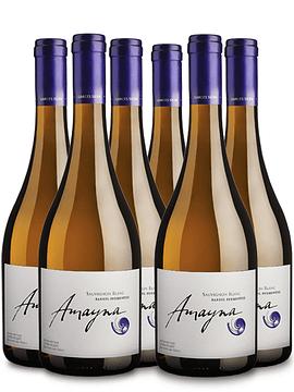 Amayna Sauvignon Blanc Barrel Fermented 2013 | Caja 6 bot.