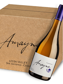 Amayna Chardonnay 2018 | Caja 6 bot.