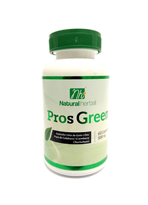 Prosgreen - 60 Cápsulas 500 mg.