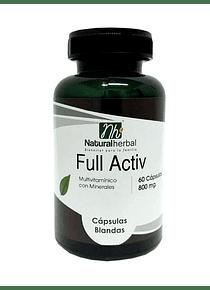 Full Activ -  60 cápsulas 800 mg.