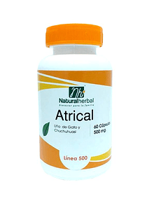 Atrical - 60 Cápsulas - 500 mg