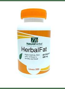 Herbal Fat -  60 Cápsulas 500 mg.