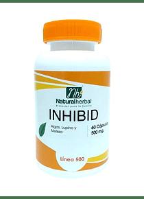 INHIBID - 60 Cápsulas 500 mg.