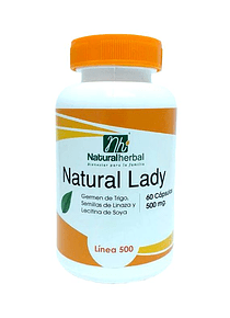Natural Lady - 60 Cápsulas  - 500 mg