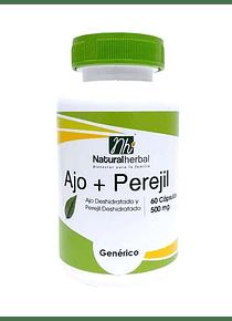 Ajo + Perejil 60 Cápsulas - 500 mg.