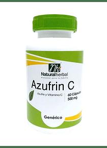 Azufrin-C - 60 Cápsulas 500 mg.