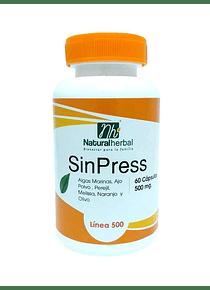 Sin Press - 60 Cápsulas 500 mg.