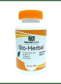 STO-Herbal - 60 Cápsulas 500 mg.
