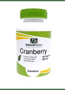 Cranberry - 60 Cápsulas 500 mg