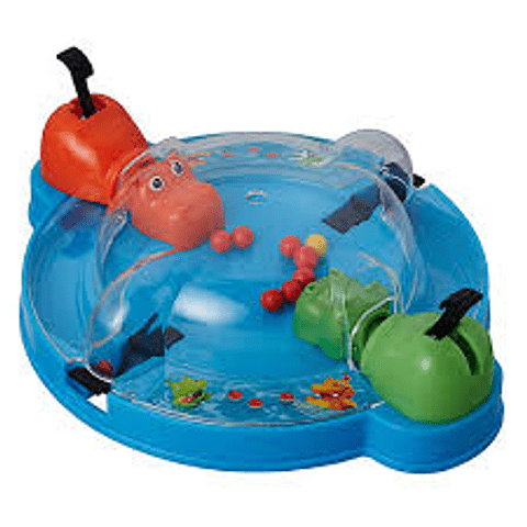 Hippos Glotones Juego de Viaje