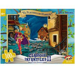 Puzzle El Flautista de Hamelin