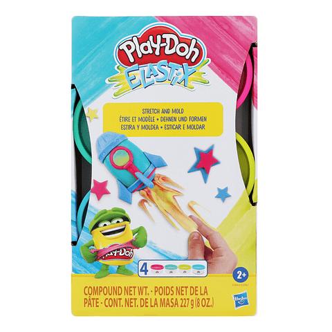 Elastix Play-Doh cohete