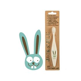 Bio Cepillo de Dientes Bunny Jack n Jill