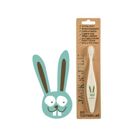 Bio Cepillo de Dientes Bunny Jack n' Jill