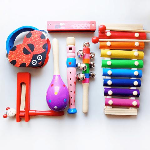 Set de instrumentos musicales: Ladybug