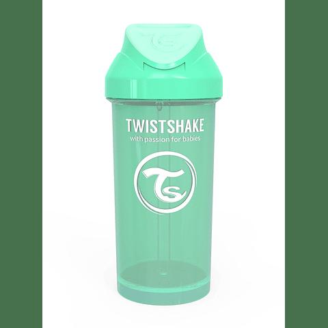 Vaso con bombilla Twistshake Menta