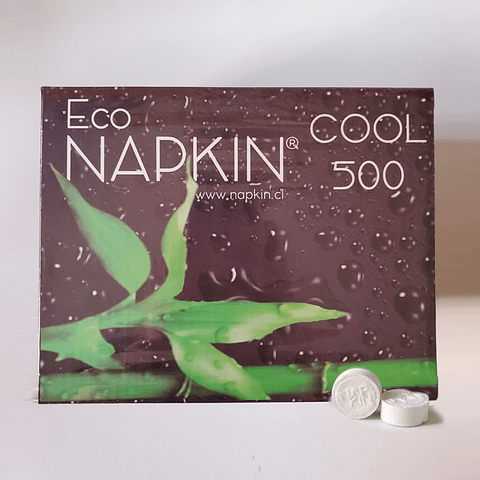 500 Toallas húmedas Biodegradables Napkin