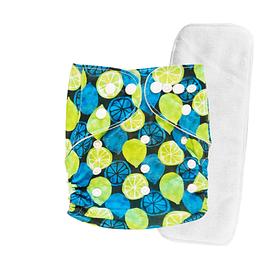 Pañal Suedecloth - Limones