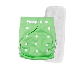 Pañal Suedecloth - Verde Agua