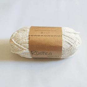 Lana de ropa reciclada - Blanco