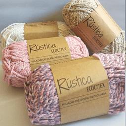 Pack de lana de ropa reciclada niña
