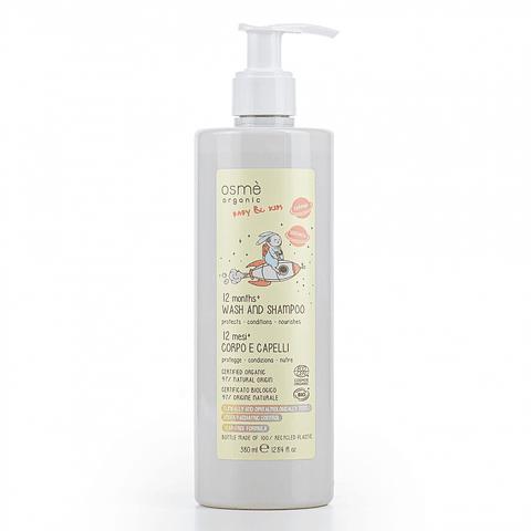 Shampoo y gel de baño Kids +12 meses Osmé Organics