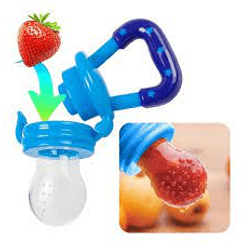 Chupete de silicona para frutas y verduras