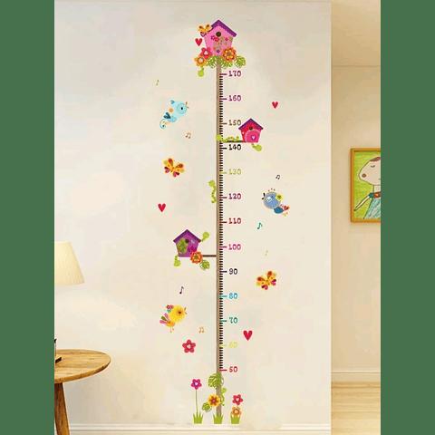 Sticker decoración para habitación altura