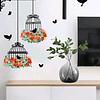 Sticker decoración para habitación pajaritos frida