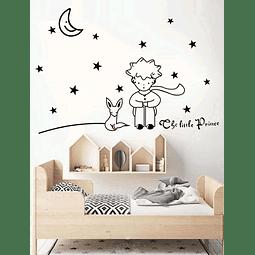 Sticker decoración para habitación el principito