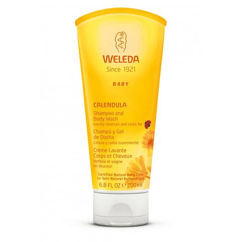 Shampoo & Gel de Ducha de Caléndula Weleda