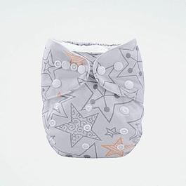 Pañal Suedecloth - Silver Stars