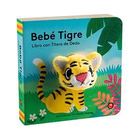 libro con titere de dedo - BEBE TIGRE