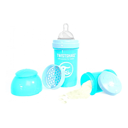Mamadera TwistShake 180ml Celeste