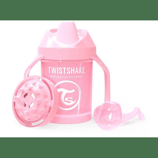 Vasos Antiderrame Twistshake Rosado