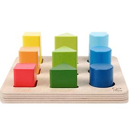 Clasificador de formas y colores Hape
