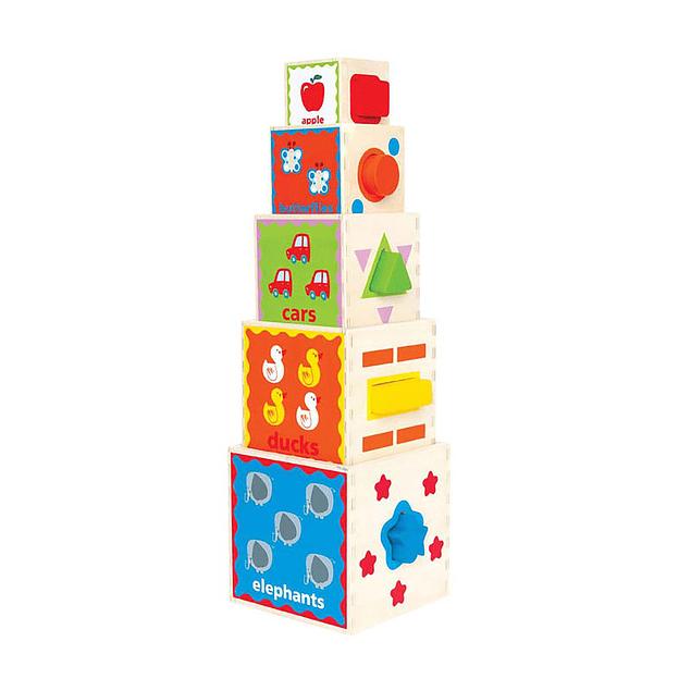 Pirámide de juegos Hape