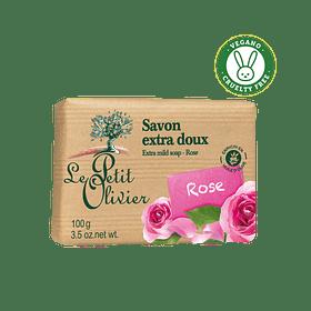 Jabón rosas 100gr Le Petit Olivier