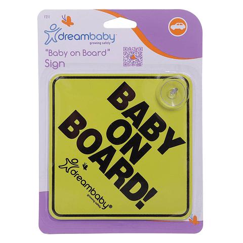Señal Baby On Board Dreambaby
