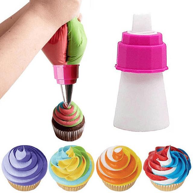 Adaptador para 2 Colores Plástico