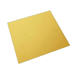 Bandeja Dorada Cuadrada Cartón 30 cm
