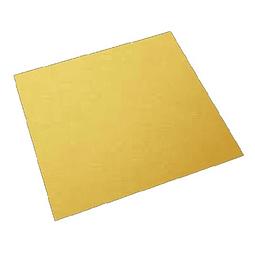 Bandeja Dorada Cuadrada 35 cm. Cartón