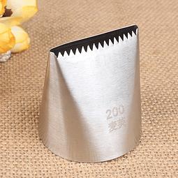 Boquilla Metálica N°200 / 789  Extra Grande