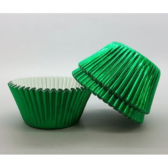 Cápsulas Cupcake Metálizadas