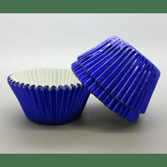 Cápsulas Minicupcake Metálizadas