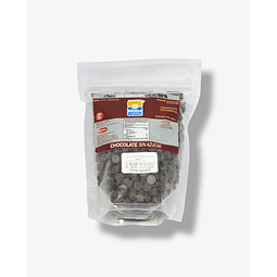 Chips de Chocolate Sin azúcar 56% Cacao 200g Chocono