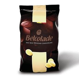 Chocolate Belcolade Blanco 30% Cacao 1 kg.