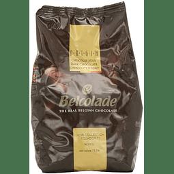 Chocolate Belcolade Ecuador 71% Cacao 1 kg.